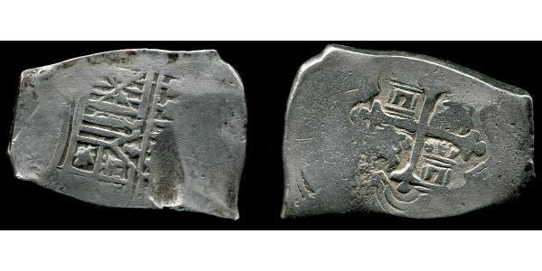8 Real 新西班牙總督轄區 (1535 - 1821) 銀