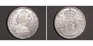 8 Real 玻利維亞 銀 卡洛斯三世 (西班牙) (1716 -1788)