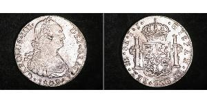 8 Real 秘鲁 銀 卡洛斯四世 (1748-1819)