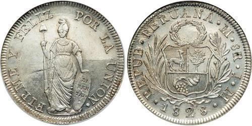 8 Real 秘鲁 銀