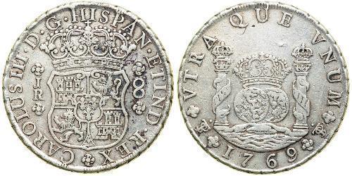 8 Real Bolivie / Vice-royauté du Pérou (1542 - 1824) Argent Charles III d