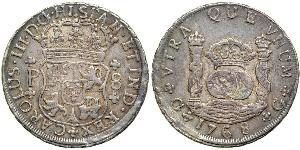 8 Real Guatemala Argent