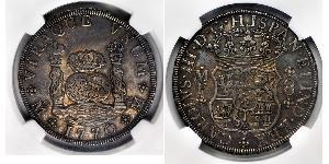 8 Real Nouvelle-Espagne (1519 - 1821) Argent Charles III d