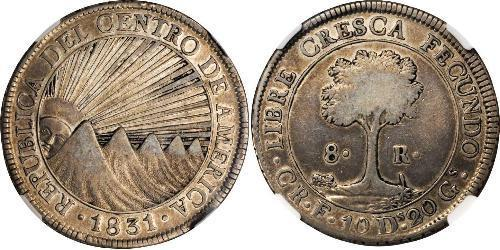 8 Real Costa Rica Argento