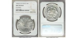 8 Real Second Federal Republic of Mexico (1846 - 1863) Argento