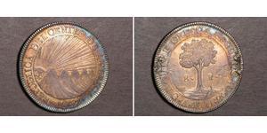 8 Real Guatemala / República Federal de Centro América (1823 - 1838) Plata