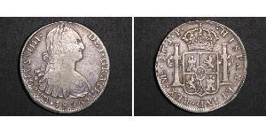 8 Real Perú Plata Carlos IV de España (1748-1819)
