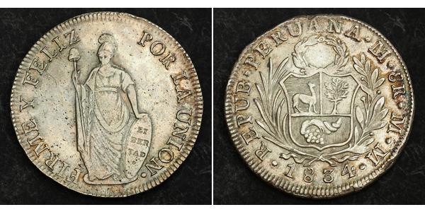 8 Real Perú Plata