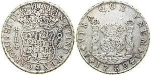 8 Real Bolivien / Vizekönigreich Peru (1542 - 1824) Silber Karl III. von Spanien (1716 -1788)