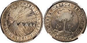 8 Real Costa Rica Silber