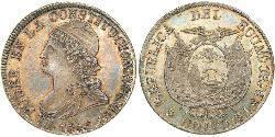 8 Real Ecuador Silber