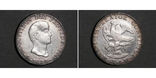 8 Real Mexiko Silber
