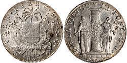 8 Real Peru Silber