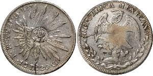 8 Real Philippinen Silber