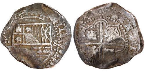8 Real Spanish Colonies / Spanien Silber Karl IV (1748-1819)