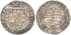 8 Real Vizekönigreich Neuspanien (1519 - 1821) Silber Philipp III. von Spanien (1578-1621)
