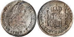 8 Real Vizekönigreich des Río de la Plata (1776 - 1814) Silber Karl IV (1748-1819)