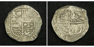 8 Real Bolivia / Viceroyalty of Peru (1542 - 1824) / Spain Silver Philip IV of Spain (1605 -1665)