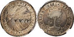 8 Real Costa Rica Silver