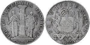8 Real Peru Silver
