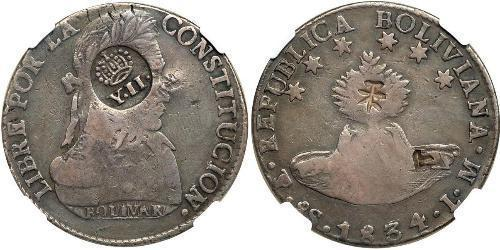 8 Real Philippines Silver