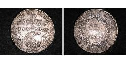 8 Real Republic of New Granada (1831–1858) Silver