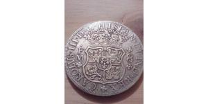 8 Real Spanish Mexico  / Kingdom of New Spain (1519 - 1821) Silver Charles III of Spain (1716 -1788)