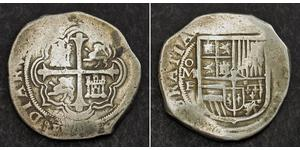 8 Real Spanish Mexico  / Kingdom of New Spain (1519 - 1821) Silver