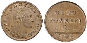 8 Tornesi Italian city-states Copper