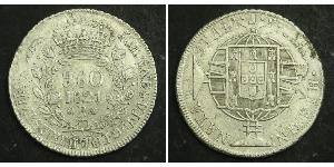 960 Reis Brasil Plata