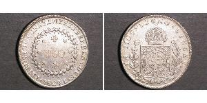 960 Reis Empire of Brazil (1822-1889) Silber