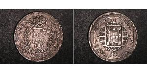 960 Reis Brazil Silver