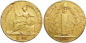 96 Lira Italian city-states 金