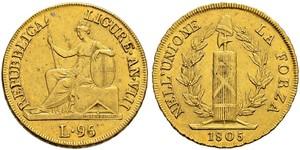 96 Lira Italian city-states Or