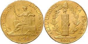 96 Lira Italian city-states Oro