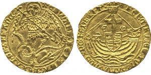 Ангел Королевство Англия (927-1649,1660-1707) Золото Эдуард IV (1442-1483)