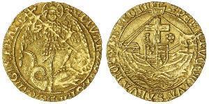 Ангел Королівство Англія (927-1649,1660-1707) Золото Едвард IV (1442-1483)