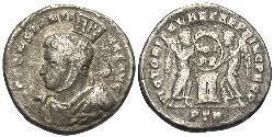 Аргентиус Римська імперія (27BC-395) Срібло Костянтин I (272 - 337)
