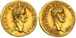 Ауреус Римская империя (27BC-395) Золото Калигула (12-41)