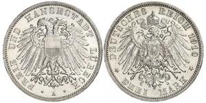 Грош / 10 Пфенниг Саксония (королевство) (1806 - 1918)  Фридрих Август II (король Саксонии)
