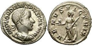 Денарий Римская империя (27BC-395) Серебро Гордиан III(225-244)
