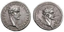 Денарій Римська імперія (27BC-395) Срібло Калігула (12-41)