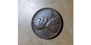 Цент США (1776 - ) Цинк/Олово/Медь