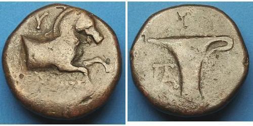 AE1 Antikes Griechenland (1100BC-330) Bronze