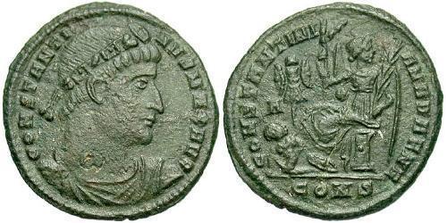 AE3 / 1 Фоллис Римская империя (27BC-395) Бронза Константин I (272 - 337)