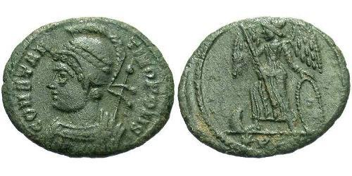 AE3 / 1 Фолліс Римська імперія (27BC-395) Бронза Костянтин I (272 - 337)