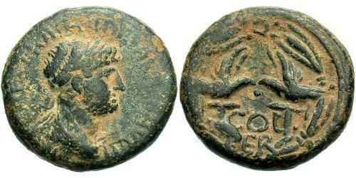 AE_ Римская империя (27BC-395) Бронза Адриан (76 - 138)