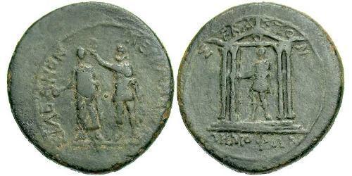 AE_ Римская империя (27BC-395) Бронза Октавиан Август (63BC- 14)