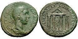 AE_ Roman Empire (27BC-395) Bronze Gordian III (225-244)