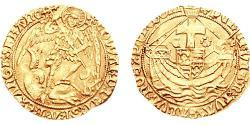 Angel Kingdom of England (927-1649,1660-1707) Gold Edward IV (1442-1483)